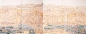 [熊本初公開]薬師寺の大壁画の原寸大の大下図 全13面(※掲載は一部)